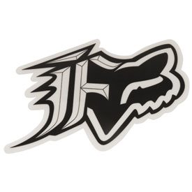 Fox Racing F-Head Sticker