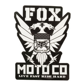 Fox Racing Standard Issue Sticker