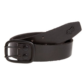 Fox Racing Blackout Leather Belt