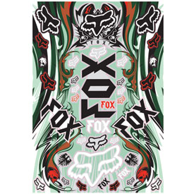 Fox Racing Encore Sticker Sheet