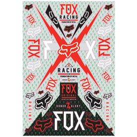 Fox Racing Giant Sticker Sheet