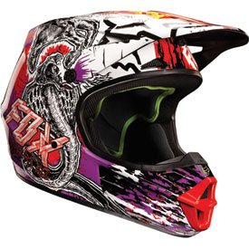 Fox Racing V1 Pestilence Helmet 2013
