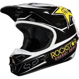 Fox Racing V1 Rockstar Helmet 2013