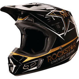Fox Racing V2 Rockstar Helmet 2013