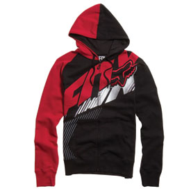 Fox Racing Flight Zip-Up Hooded Sweatshirt