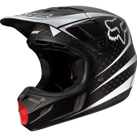 Fox Racing V4 Carbon Reveal Helmet 2014