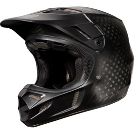 Fox Racing V4 Matte Carbon Helmet 2014