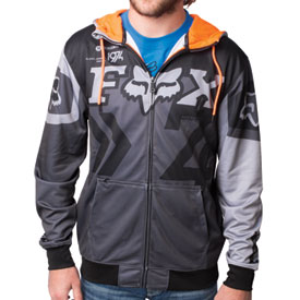 Fox Racing Anthem Zip-Up Hooded Sweatshirt
