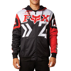 Fox Racing Anthem Zip-Up Hooded Sweatshirt 2014