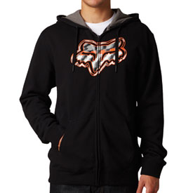 Fox Racing Spillover Zip-Up Hooded Sweatshirt