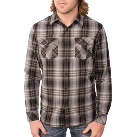 Fox Racing Greasefire Long Sleeve Flannel Button Up Shirt
