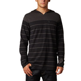 Fox Racing Hazed Long Sleeve Hooded Henley T-Shirt