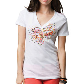 Fox Racing Excite Ladies V-Neck T-Shirt