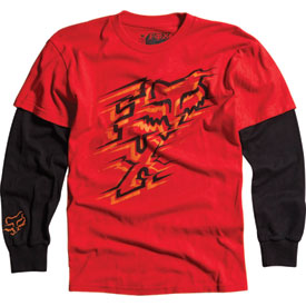 Fox Racing Pinpoint Kids 2Fer Long Sleeve T-Shirt