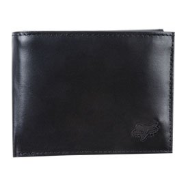 Fox Racing Leather Bi-Fold Wallet