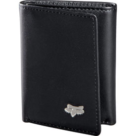 Fox Racing Leather Tri-Fold Wallet