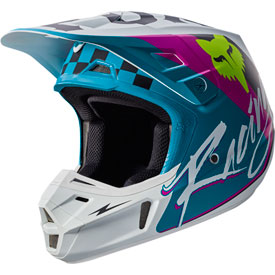Fox Racing V2 Rohr Helmet XX-Large Teal