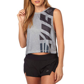 62dc1a2ac Fox Racing Women's Red, White and True Muscle Crop Tank | Casual ...
