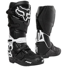 Fox Racing Instinct Boots Size 9 Black/White