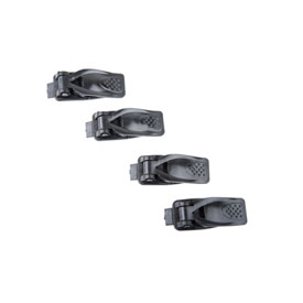 Fox Racing Comp 5 Youth / 3 Youth Boot Replacement Buckles Sizes 1-2 Black