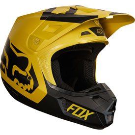 Fox Racing V2 Preme Helmet Small Dark Yellow