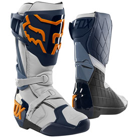 Fox Racing Comp R Boots Size 10 Navy/Orange