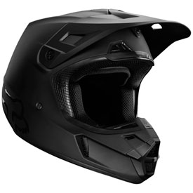 Fox Racing V2 Matte Black Helmet X-Small Matte Black