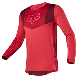 Fox Racing Airline Jersey Large Red