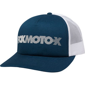 Fox Racing Women's Baldwin Snapback Trucker Hat  Navy/White