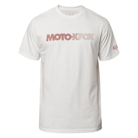 Fox Racing Hi Speed T-Shirt Medium Optic White