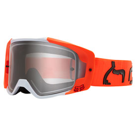 Fox Racing VUE Dusc Goggle  Fluorescent Orange Frame/Clear Lens