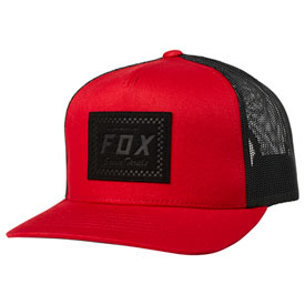 Fox Racing Built To Thrill Snapback Hat  Chili
