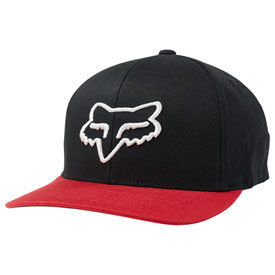 Fox Racing Scheme 110 Snapback Hat  Black/Red