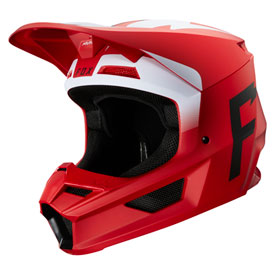 Fox Racing V1 Werd Helmet XX-Large Flame Red