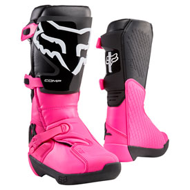 Fox Racing Women's Comp Boots 2020 Size 11 Black/Pink