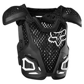 Fox Racing Youth R3 Roost Deflector  Black