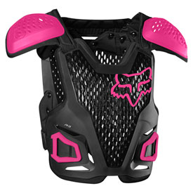 Fox Racing Youth R3 Roost Deflector  Black/Pink