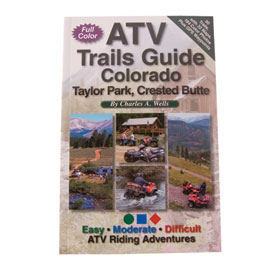 FunTreks Guidebooks ATV Trails Guide, Colorado Taylor Park, Crested Butte