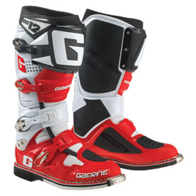 Gaerne SG-12 Boots Size 10 White/Red/Black