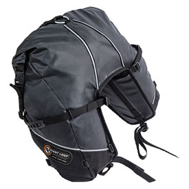 Giant Loop Great Basin Roll Top Saddlebag  Black