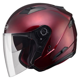 GMax OF77 Open Face Helmet X-Large Wine