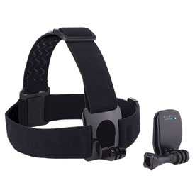 GoPro HD Hero Camera Head Strap + QuickClip Mount