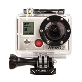 GoPro HD Hero 2 Motorsports Camera with Free 4GB SD Card