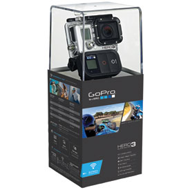 GoPro HD Hero 3 Black Edition Camera with Free 4GB Micro SD Card