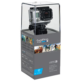 GoPro HD Hero 3 Silver Edition Camera with Free 4GB Micro SD Card