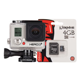 GoPro HERO3 + Silver Edition Camera