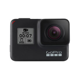 GoPro HERO7 Black Edition Camera with 32GB SD Card