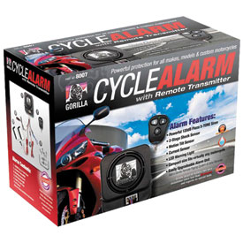 Gorilla Cycle Alarm with 3-Button Remote Transmitter