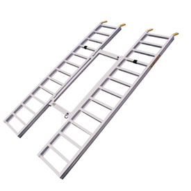 Great Day Inc. Tri-Fold Adjustable Side x Side Loading Ramp