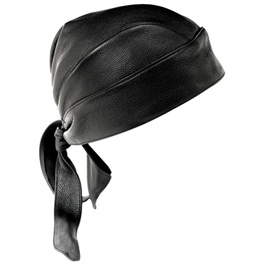 Heavy Duty Leather Head Wrap